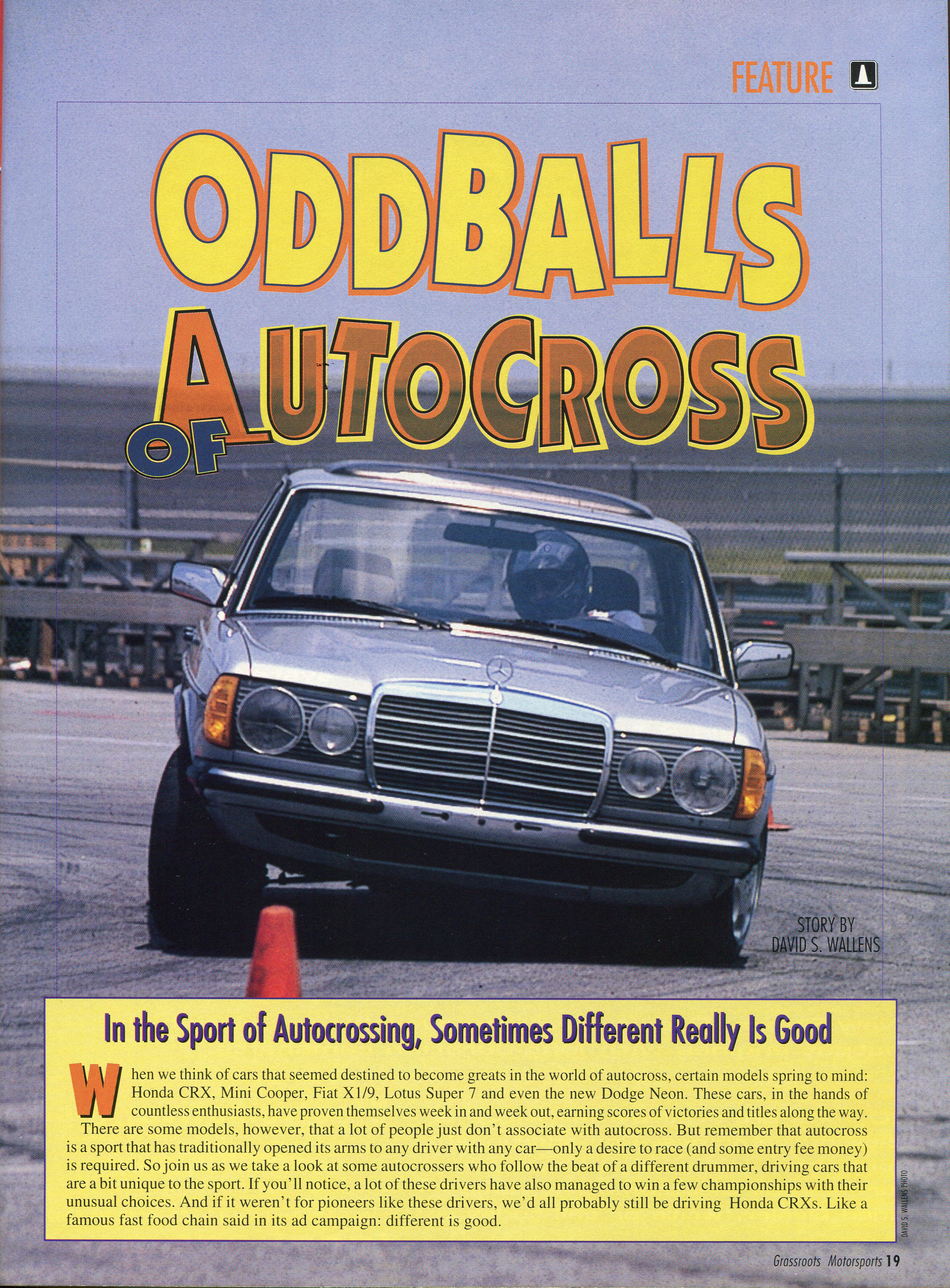 Oddballs of Autocross