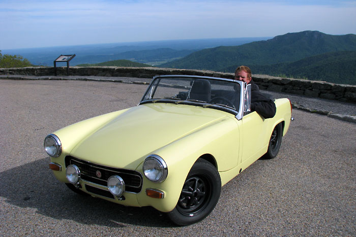 Thoroughly modern midget mg midget project car updates for Modern motors used cars