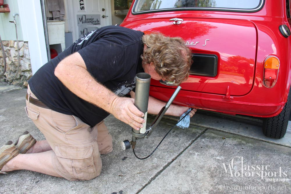 Pumping Up The Suspension Austin Mini Cooper S Project