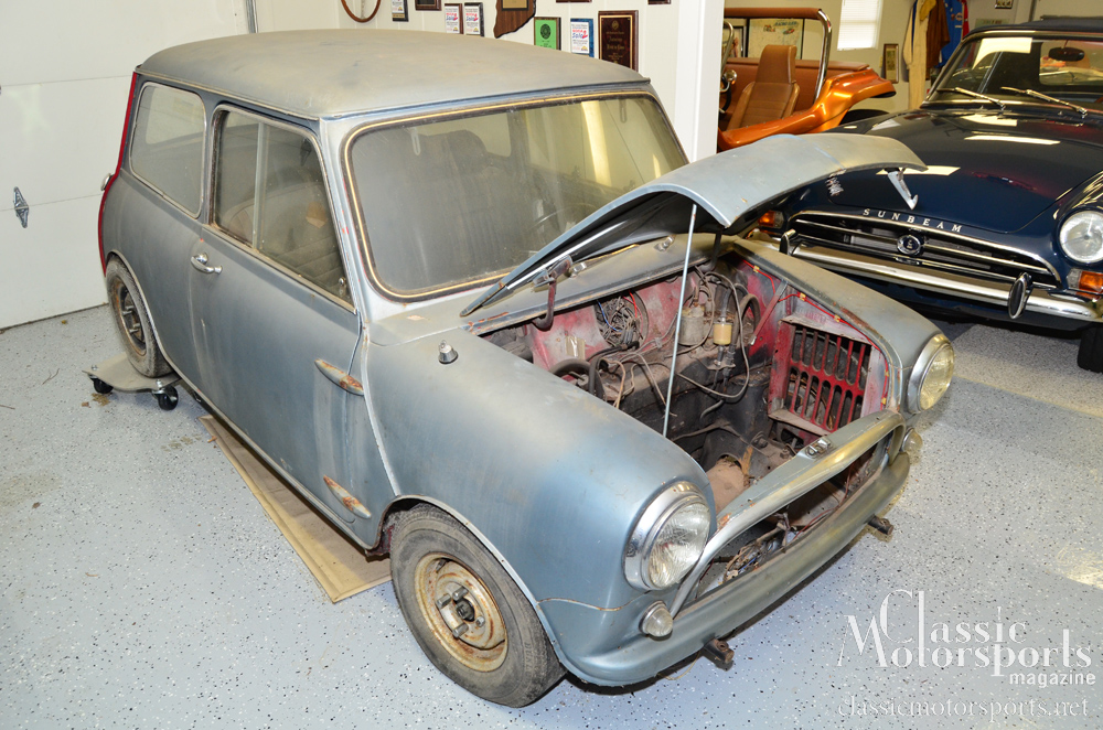 The Right Break In Oil Austin Mini Cooper S Project