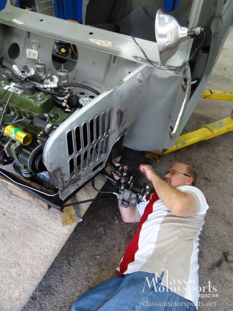 Aligning The Front End Austin Mini Cooper S Project