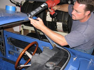 Replacing An Alfa Windshield Alfa Romeo 2000 Gtv