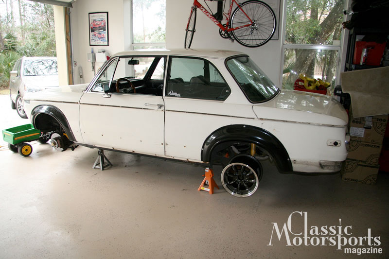 Surgery Starts Bmw 2002tii Project Car Updates