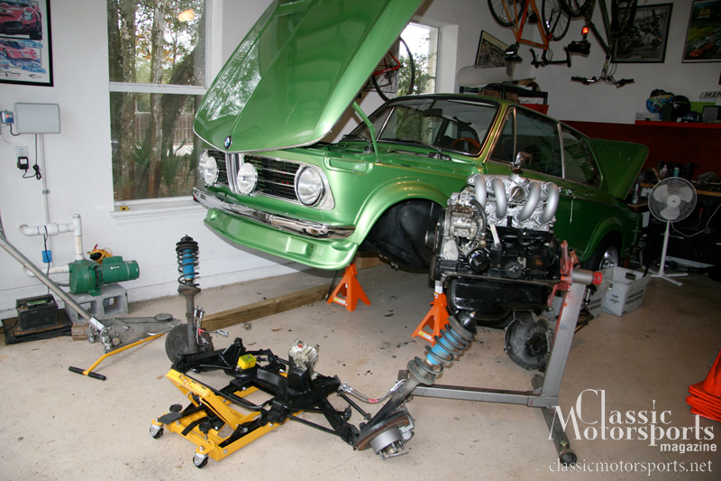 Power From Below Bmw 2002tii Project Car Updates