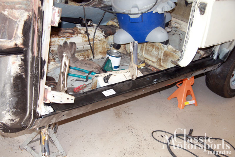 Rocker Panel Replacement Bmw 2002tii Project Car Updates