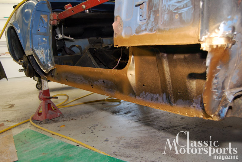 Spitfire Surgery Triumph Spitfire Project Car Updates