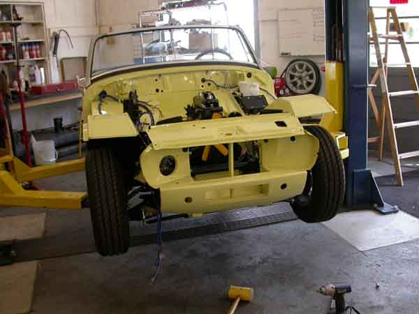 Fenders for a 1971 midget