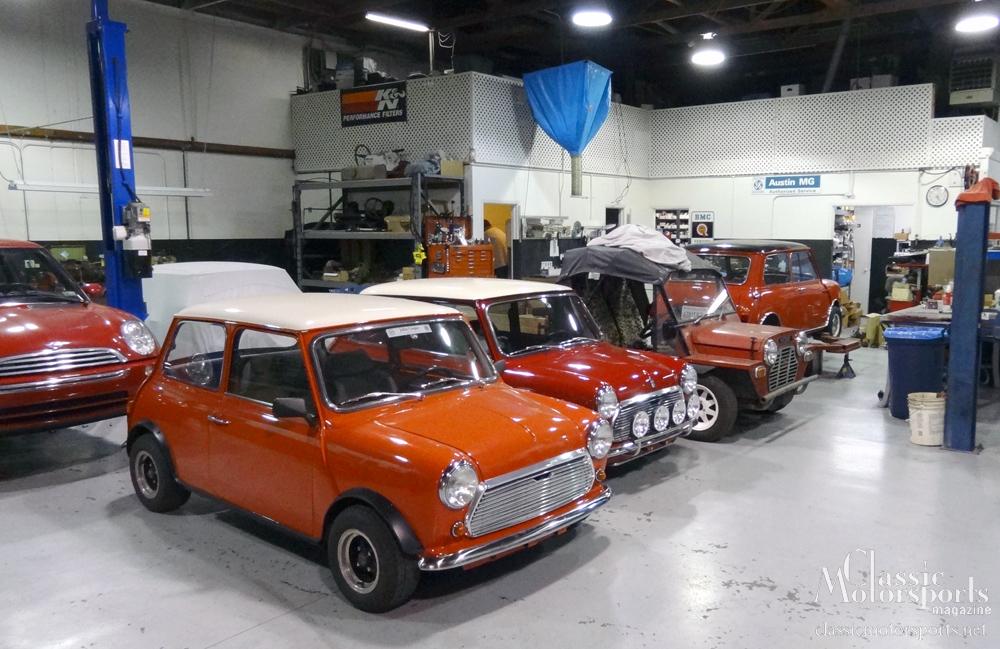 Visiting heritage garage austin mini cooper s project for Garage mini 77
