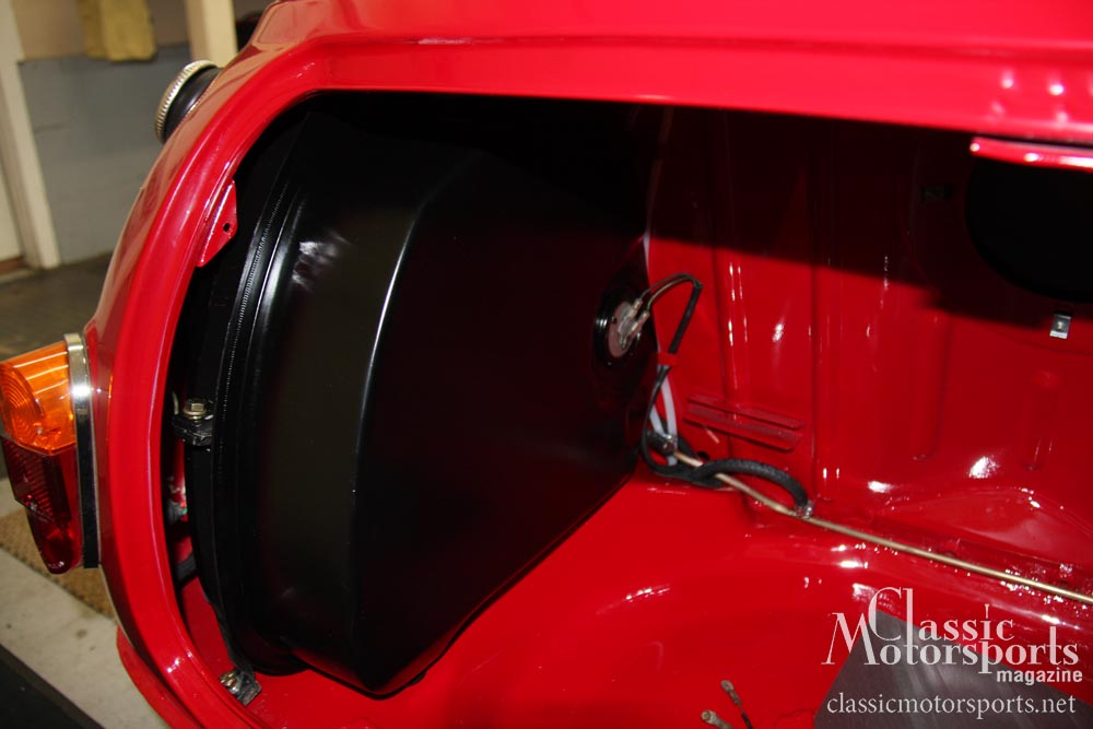 Installing The Gas Tanks Austin Mini Cooper S Project