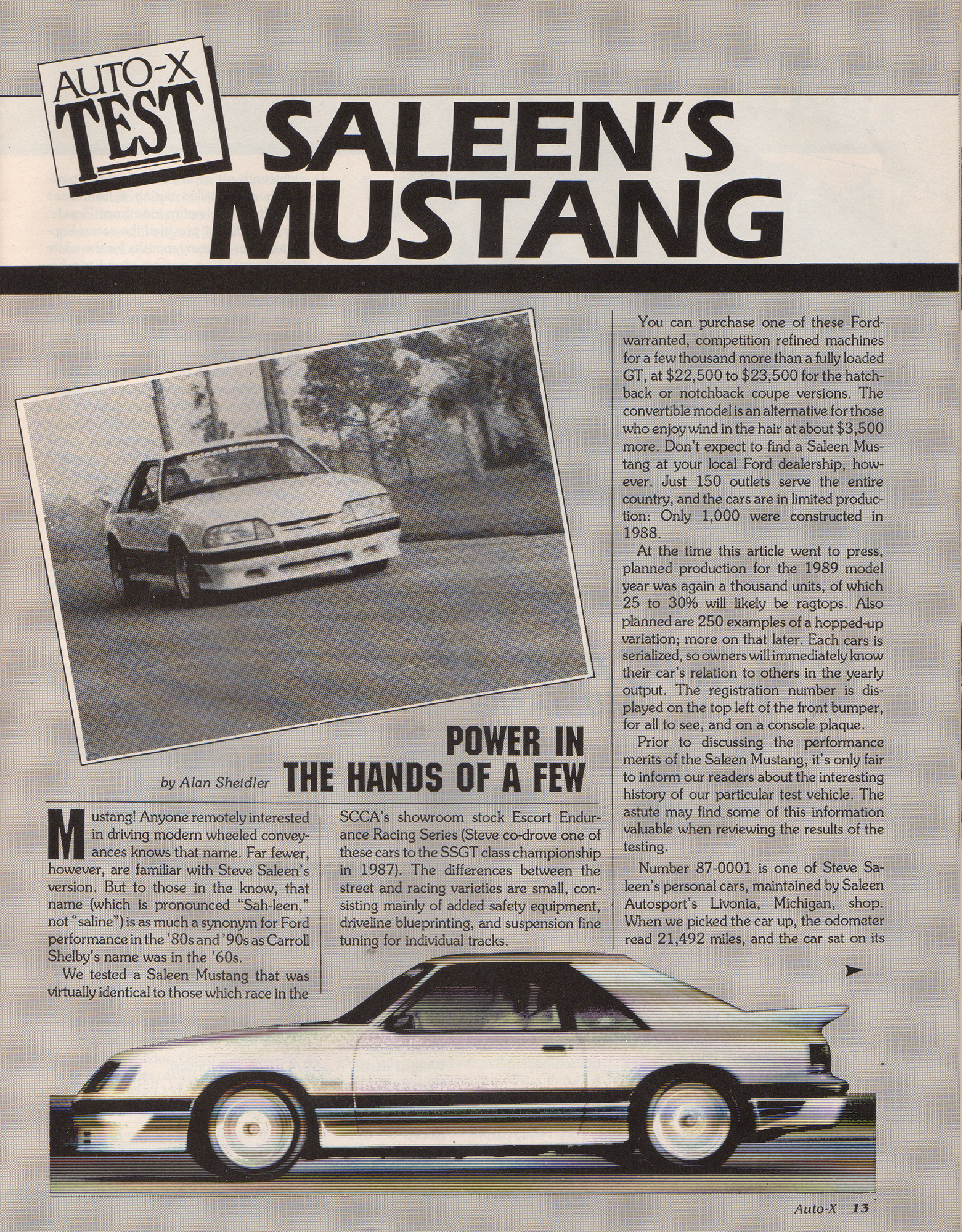 Saleen Mustang Fox Body